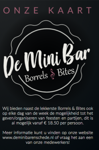Menukaart_minibar